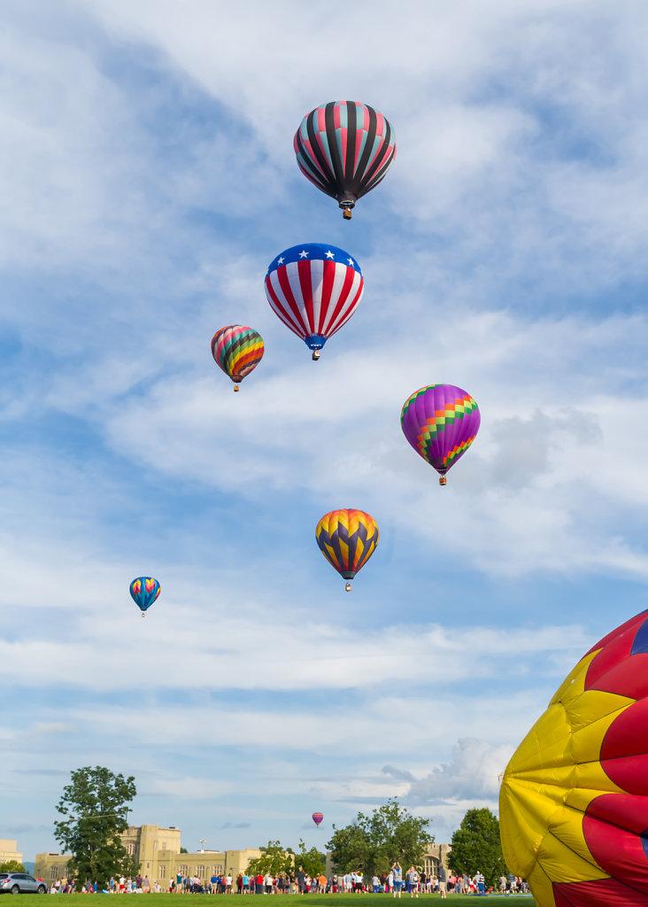 Balloons over VMI