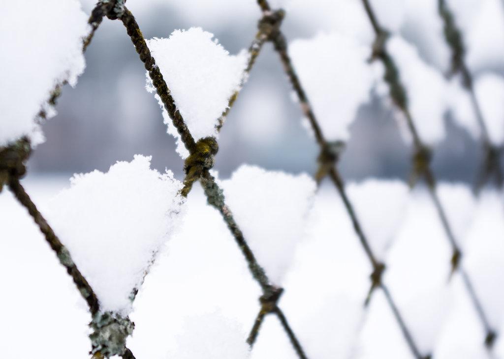 Diamonds Half Full of Snow