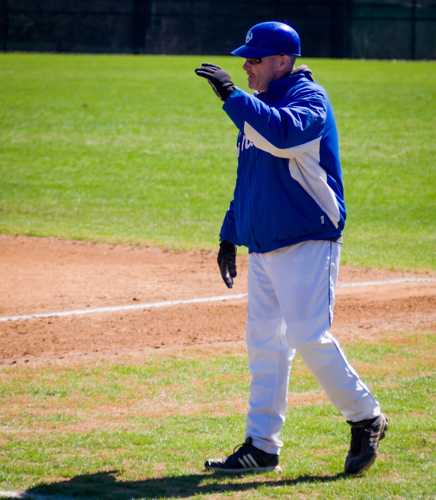 Coach Gavin Colliton