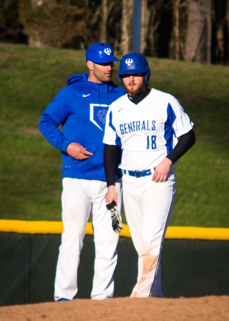 Coach Brandon Cohen and Paul Diven