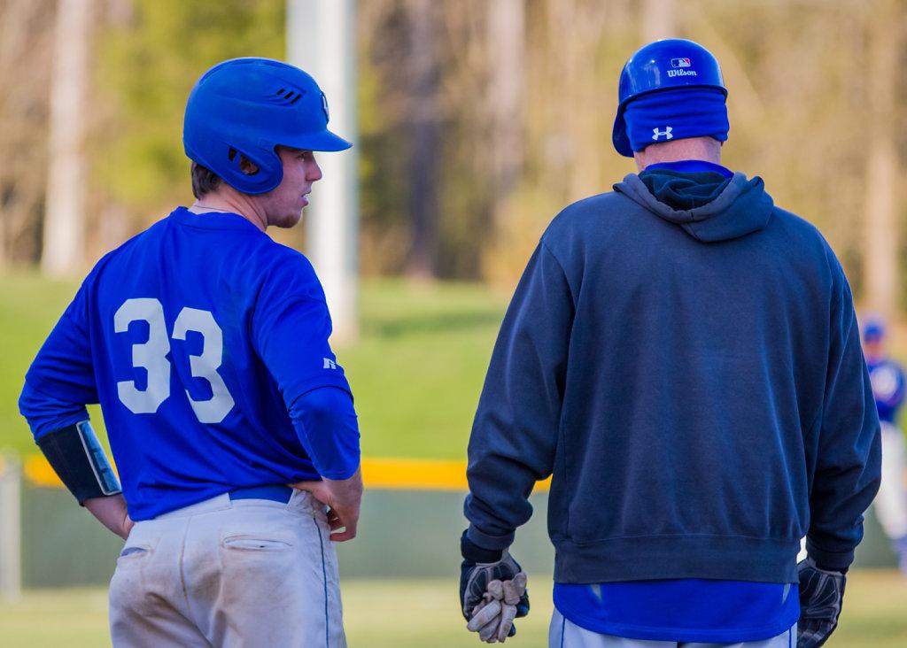 Bryce Burnette and Coach Gavin Colliton